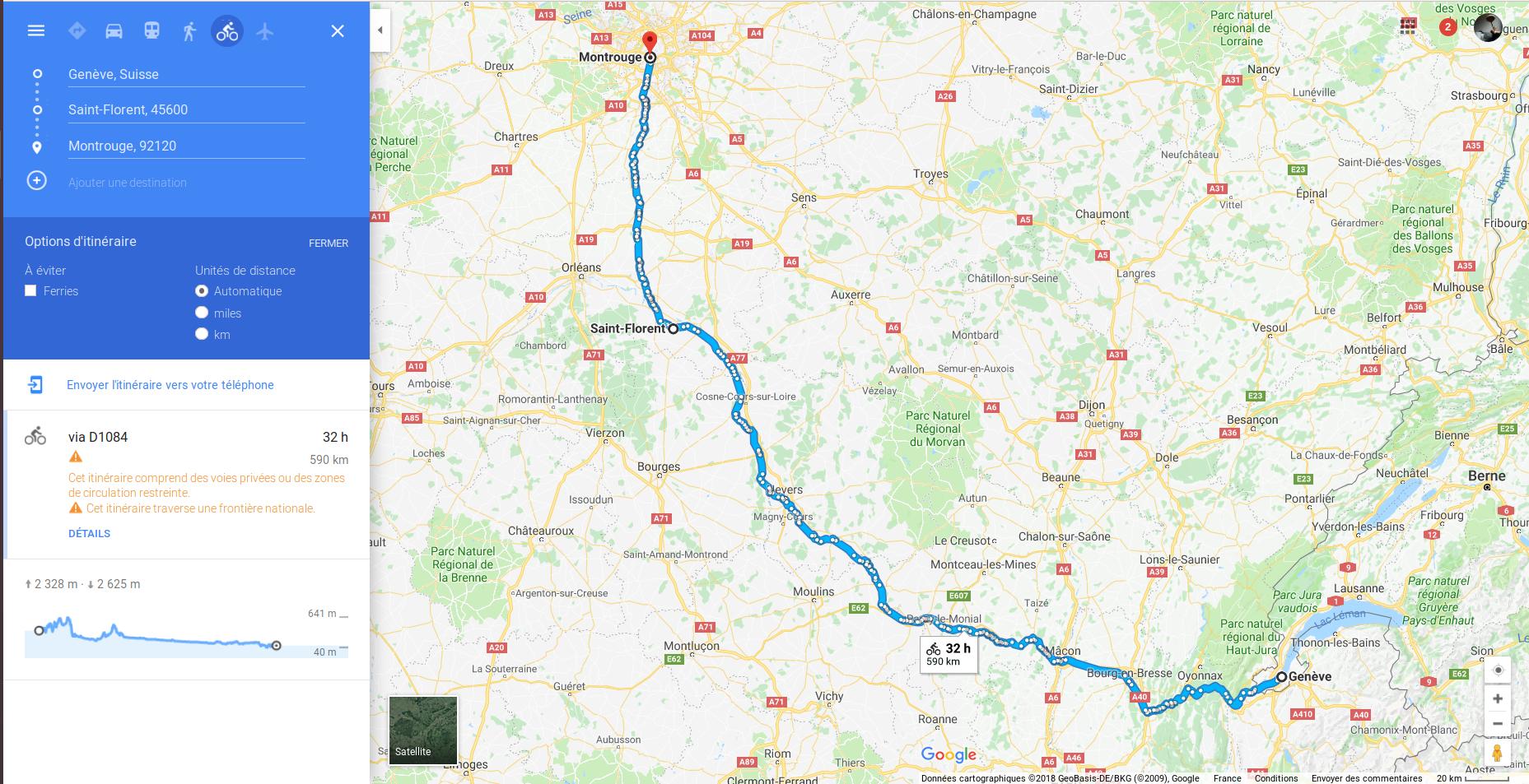 2ème chapitre : Genève-Paris